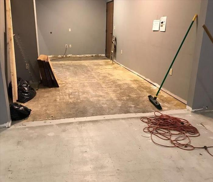 Commercial Office Experiences Water Damage After Water Heater Ruptures After