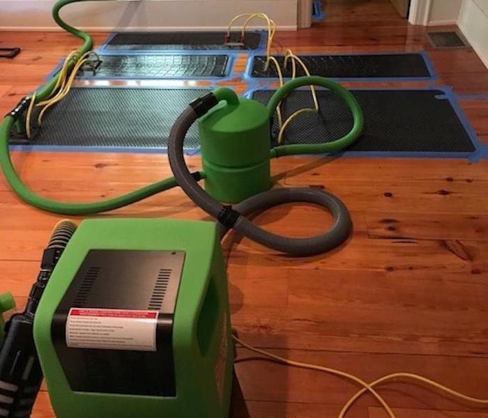 Hardwood Floors Buckling Up: SERVPRO Of West Greenville County Gallery Photos