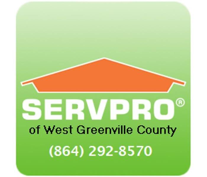 Storm Damage When Storms or Floods hit West Greenville SERVPRO is ready!!