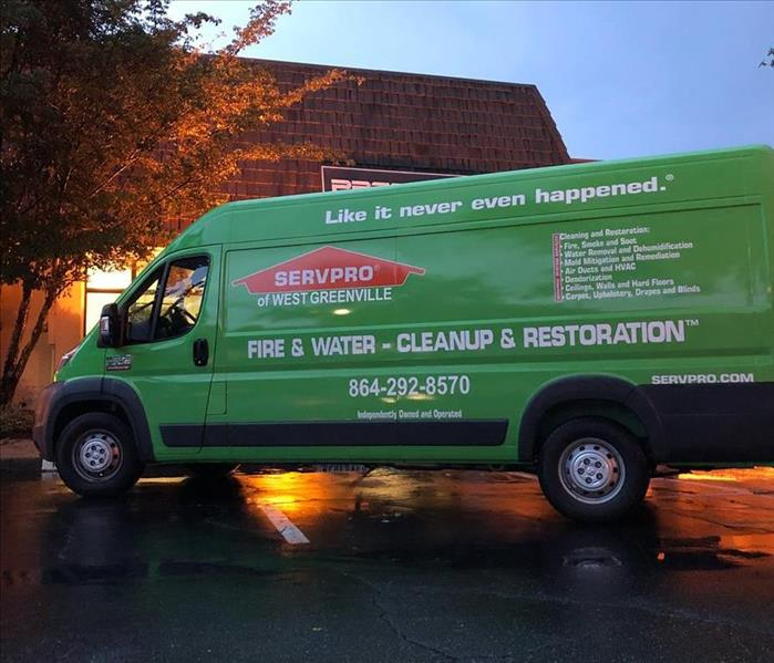 Why SERVPRO Why SERVPRO of West Greenville County